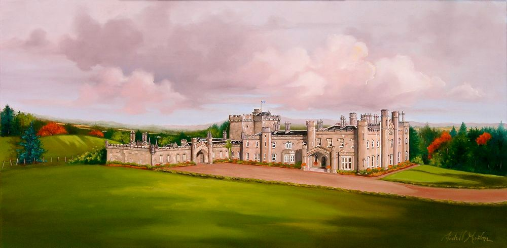 Dundas Castle, South Queensferry - Click image to enlarge